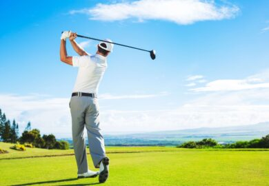 Physical therapy in Golf Rehabilitation